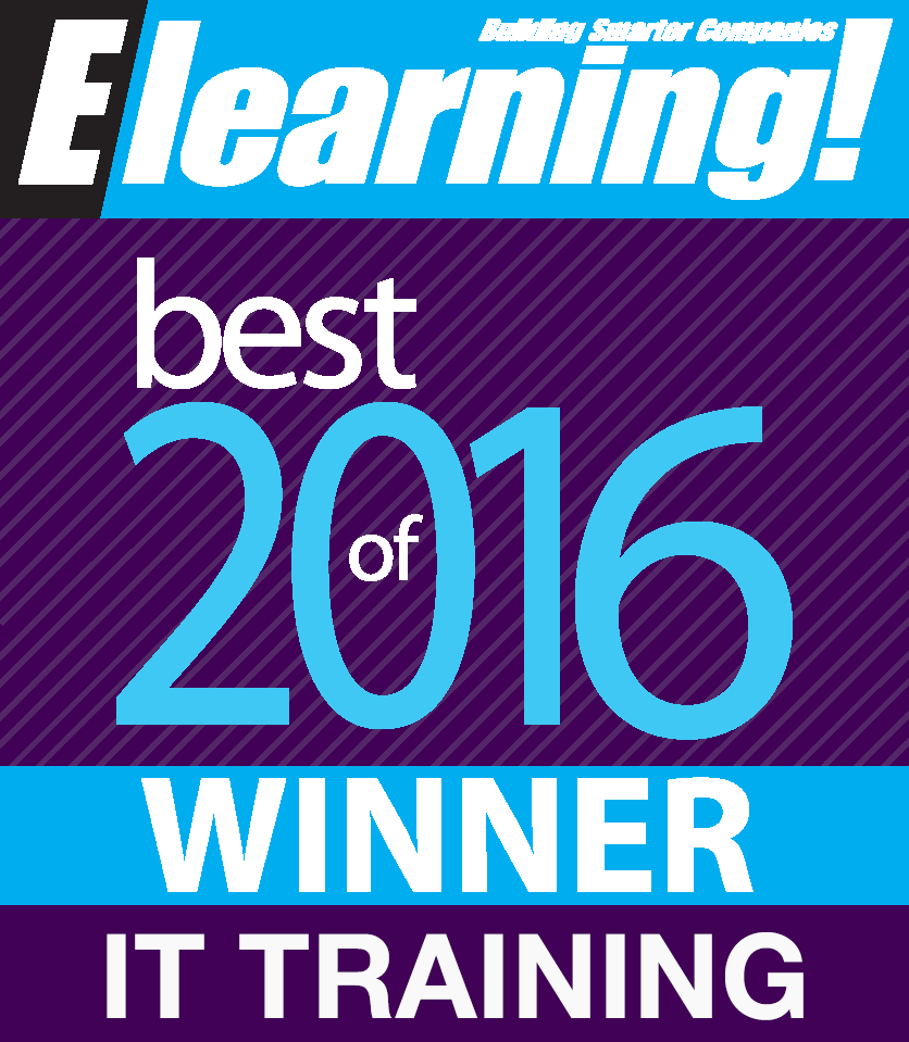 Award for best it training courses