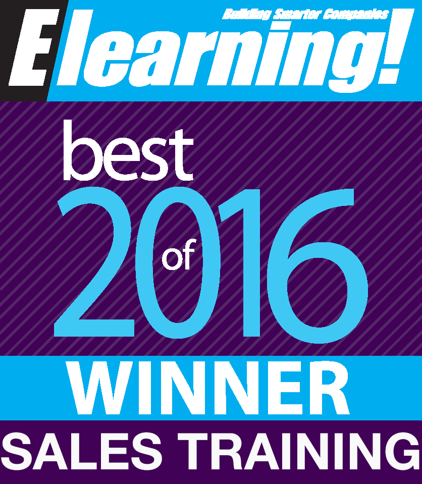 Award for best sales training content