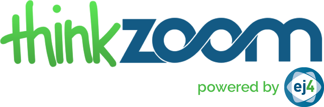 Powered thinkzoom logo